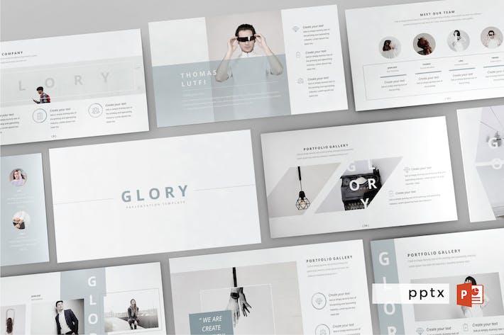 Thumbnail for GLORY - Multipurpose Powerpoint Template  V84