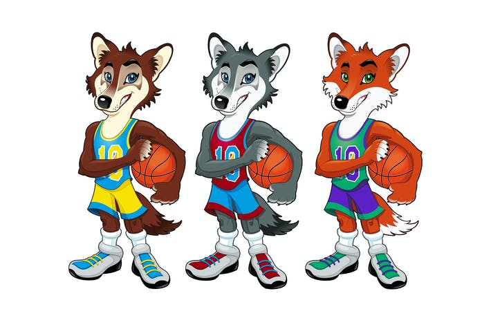 Thumbnail for Basketball mascots