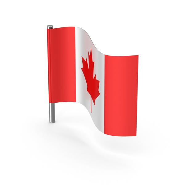 Canada Cartoon Flag