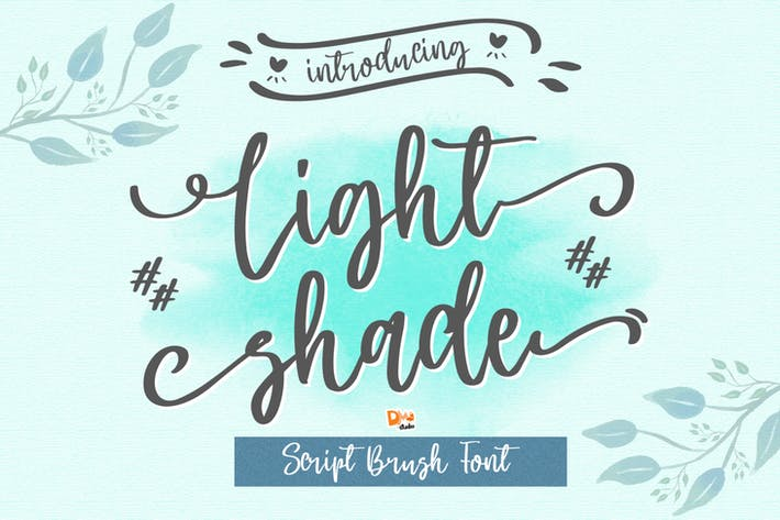 Thumbnail for Light Shade - Script Font
