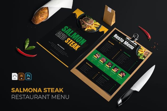 Thumbnail for Salmona Steak | Restaurant Menu