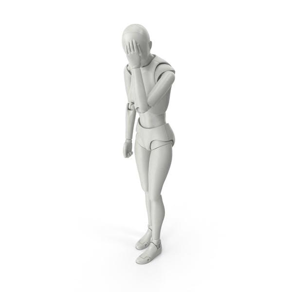 Thumbnail for Posed Figure Female Facepalm