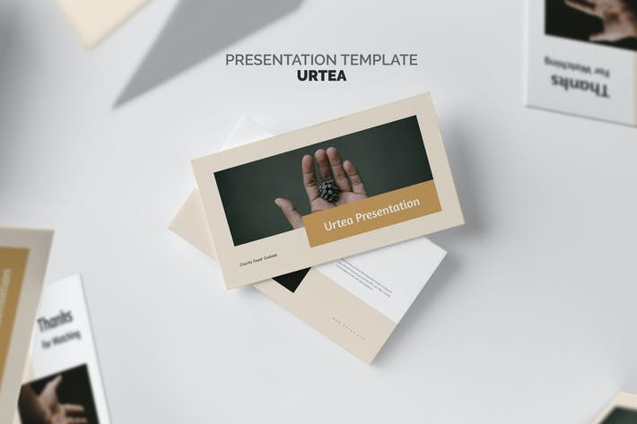 Thumbnail for Urteo : Charity Event Powerpoint