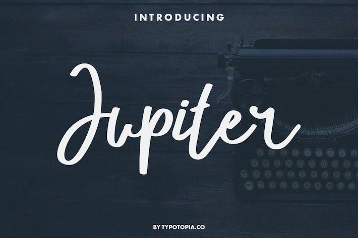 Jupiter a Fancy Script Font