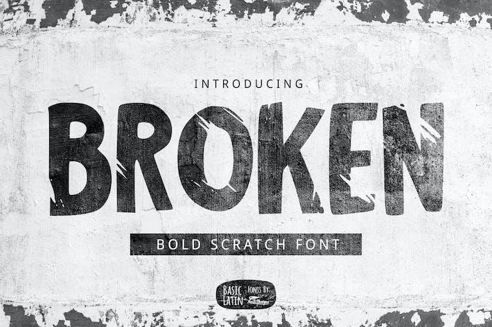 Thumbnail for Broken Font