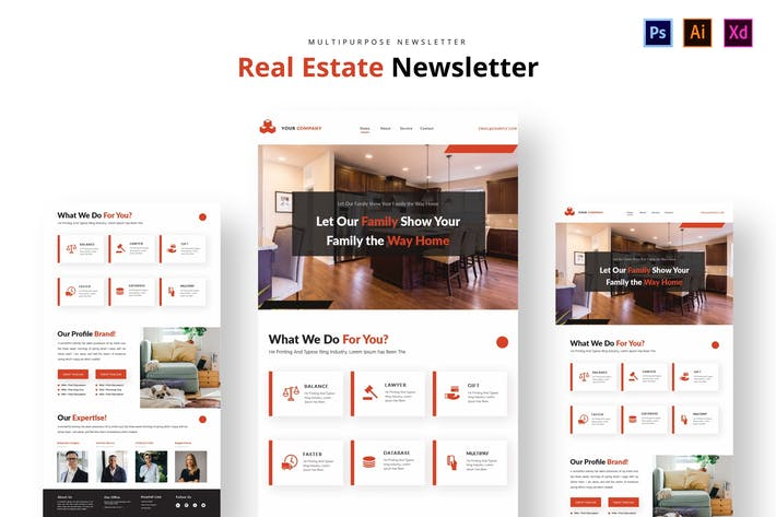 Thumbnail for Real Estate Newsletter