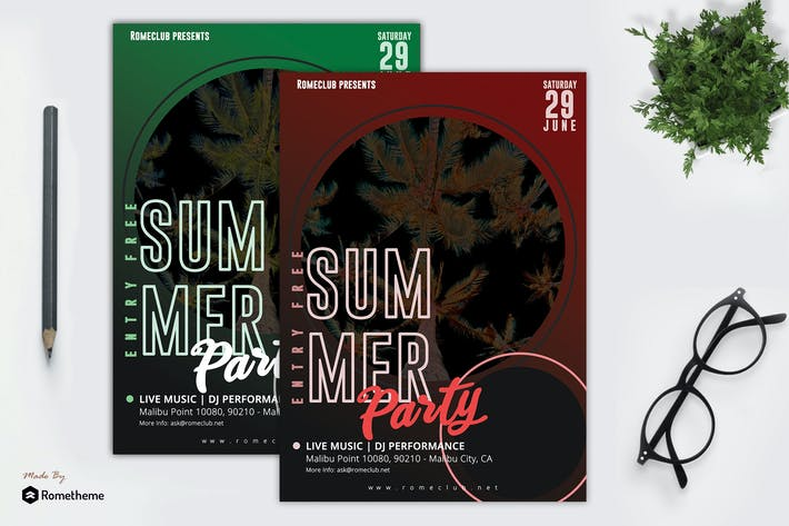 Thumbnail for Summer Party Flyer vol. 03 RY