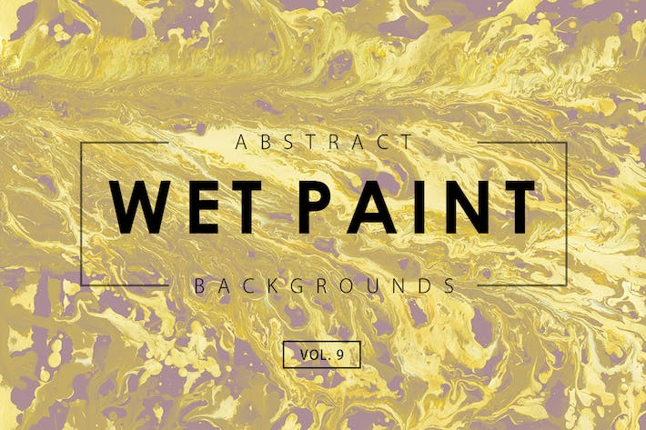 Thumbnail for Wet Paint Backgrounds Vol. 9
