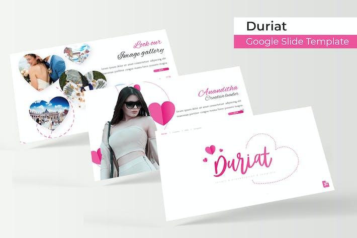 Thumbnail for Duriat - Google Slide Template