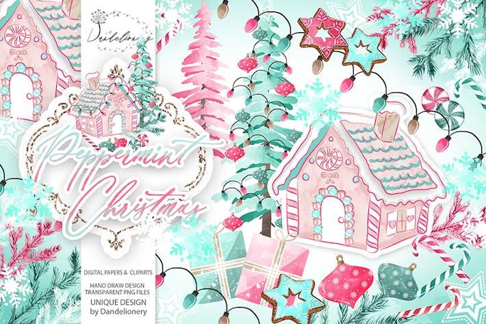 Thumbnail for Peppermint Christmas design