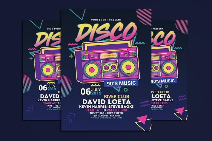 Thumbnail for Disco Retro Music Party