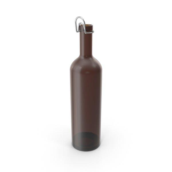 Botella colgante