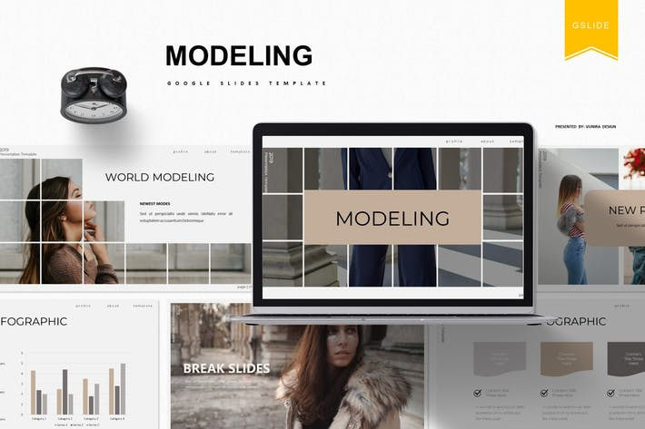Thumbnail for Modeling | Google Slides Template