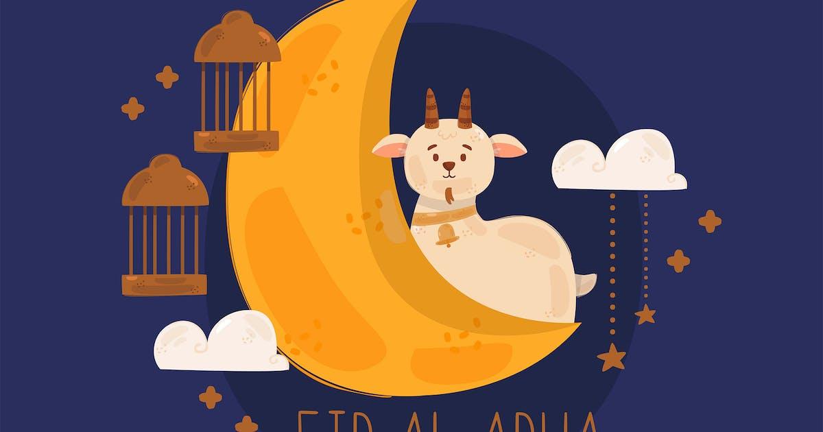 Download Eid Al-Adha Celebration Illustration by april_arts