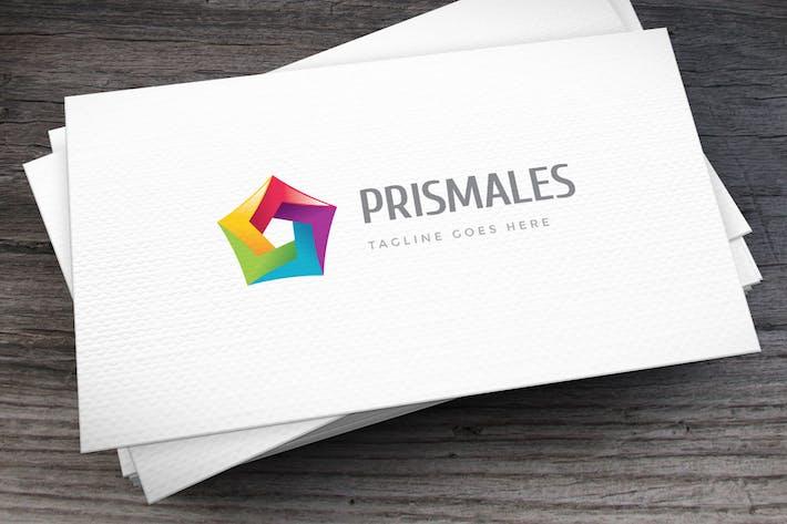 Thumbnail for Шаблон логотипа Prismales