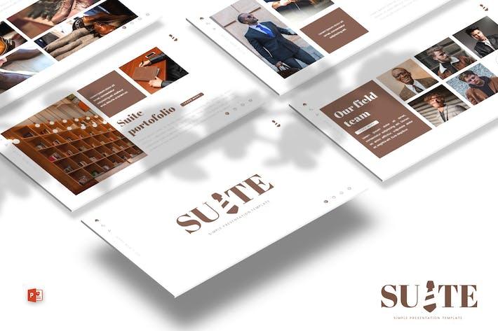 Thumbnail for Люкс — Шаблон Powerpoint