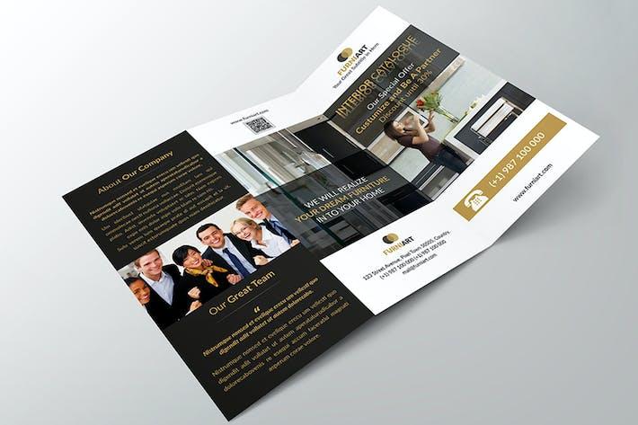 Thumbnail for Georgyno - Elegant Trifold Brochure