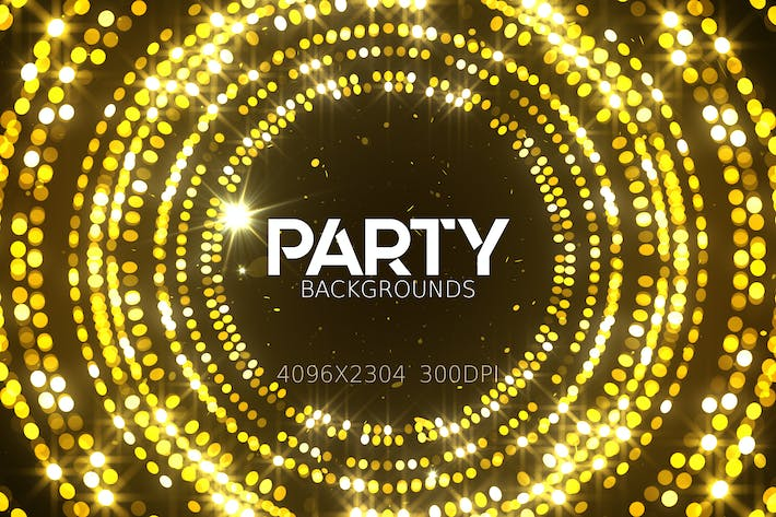 Cover Image For Party Lights Backgrounds
