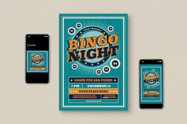 Bingo Night Flyer Pack