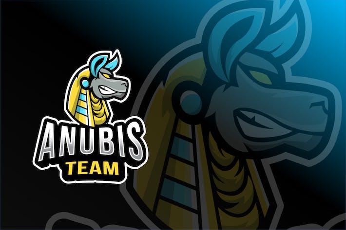 Thumbnail for Anubis Team Esport Logo Template