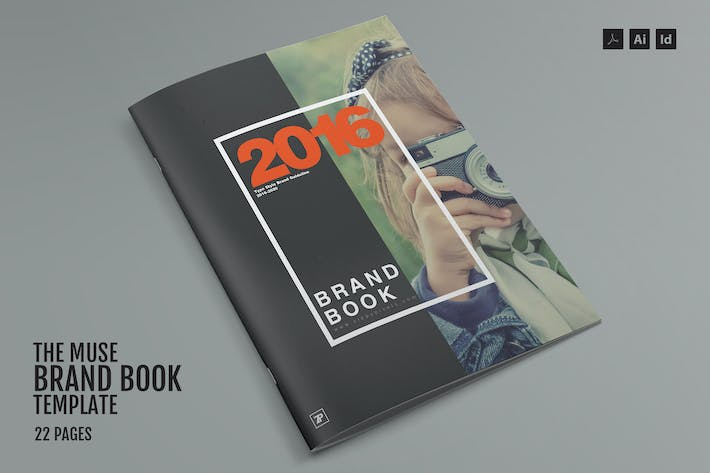 cover image for the muse brand book template
