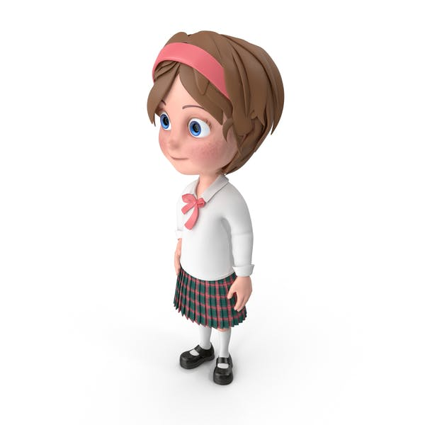 Cartoon Girl Idle