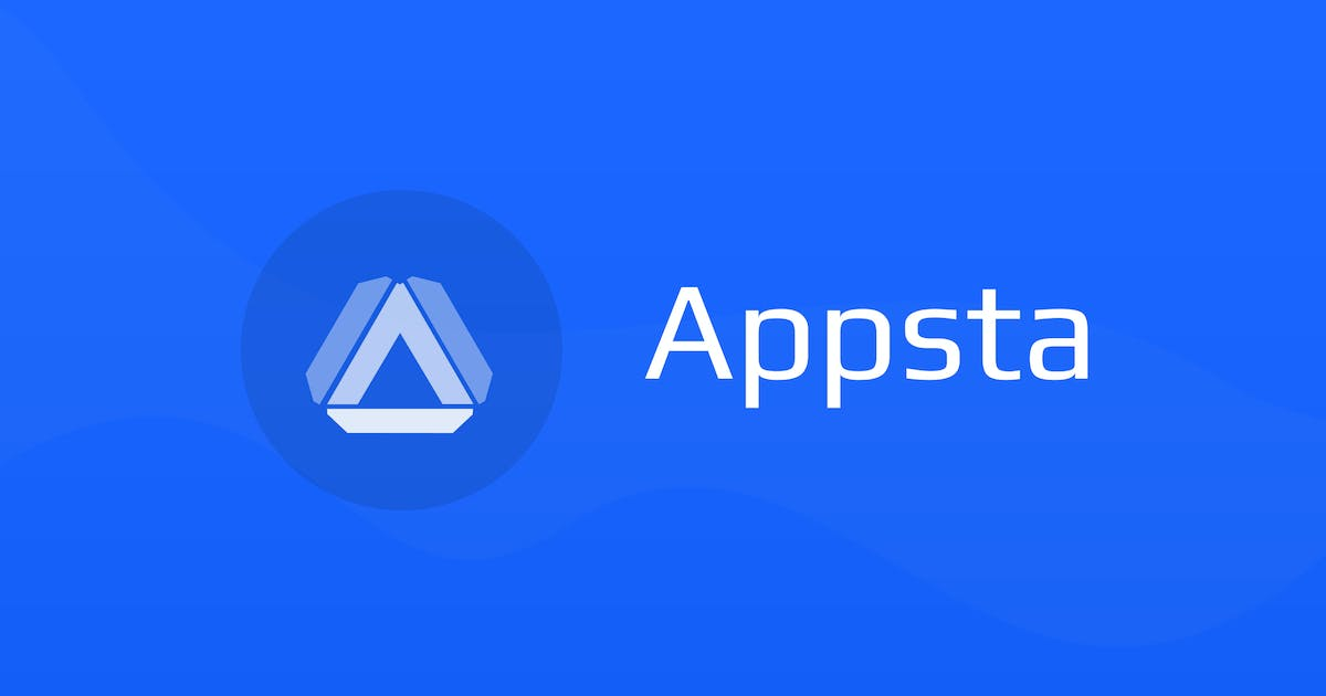 Download Appsta - Logo for App Design by ThemeWisdom