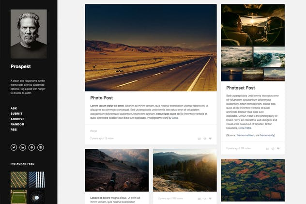 Prospekt - Responsive Sidebar Theme - product preview 0