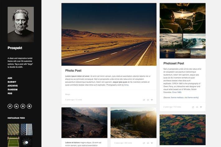Thumbnail for Prospekt - Responsive Sidebar Theme