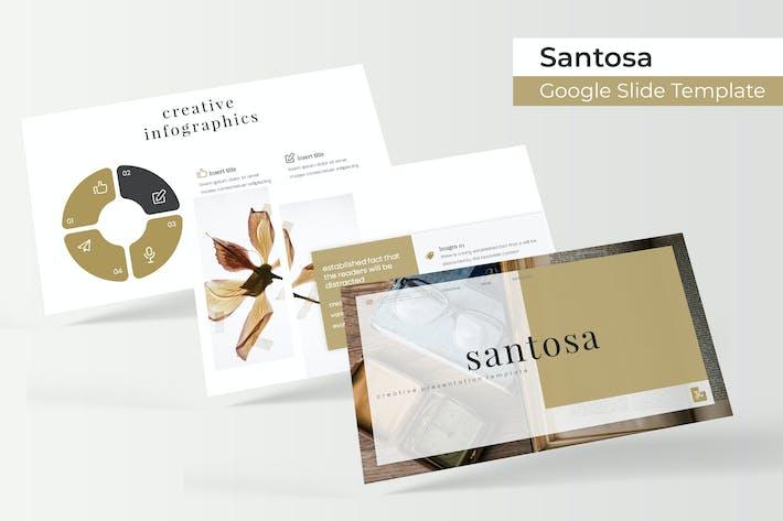 Thumbnail for Santosa - Plantilla de Google Presentación de