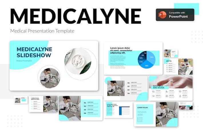Thumbnail for MEDICALYNE - Шаблон медицинских презентаций