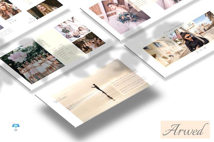Thumbnail for Arwed - Keynote Template