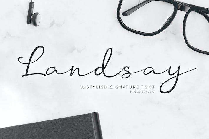 Thumbnail for Landsay - Tipo de letra elegante