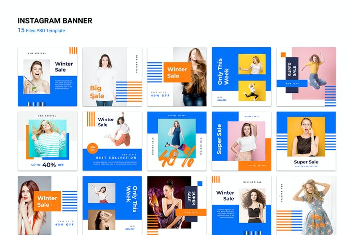 Thumbnail for Instagram Fashion Banner