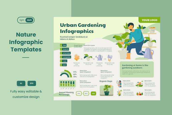 Thumbnail for Infographic Examples for Ecology & Nature 04