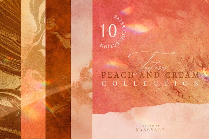 Thumbnail for 10 Peach and Cream Textures Part1