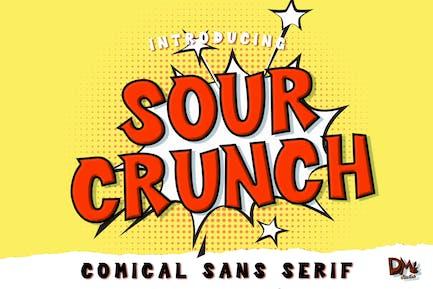 Sour Crunch - Comical Font