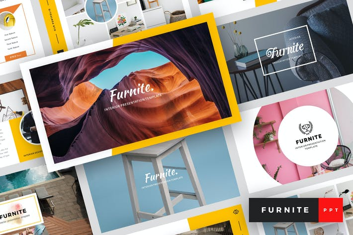 Thumbnail for Furnite - Interior Design PowerPoint Template