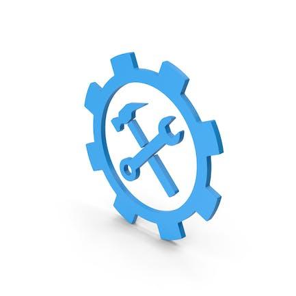 Symbol Tools Blue