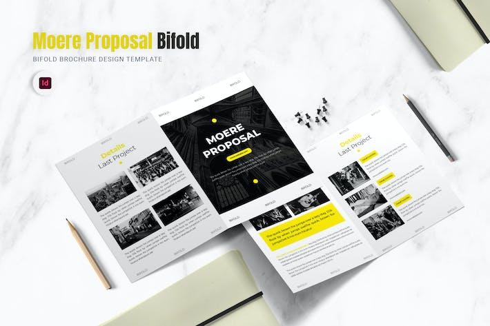 Thumbnail for Brochure à deux volets de la proposition Moere