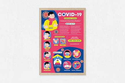 Covid-19 Pandemic Poster