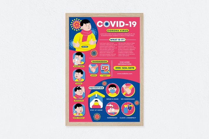 Thumbnail for Covid-19 Pandemic Poster
