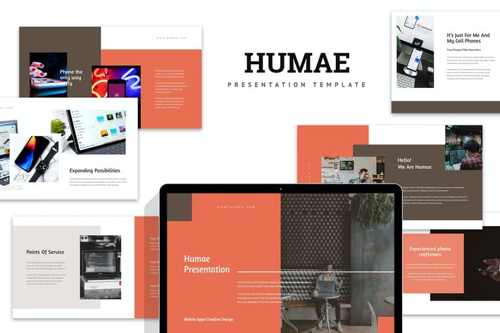 Thumbnail for Humae : Mobile Application Showcase Powerpoint