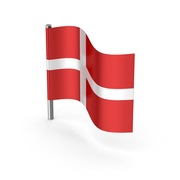 Thumbnail for Denmark Cartoon Flag