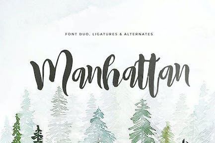 Manhattan (2 fonts)