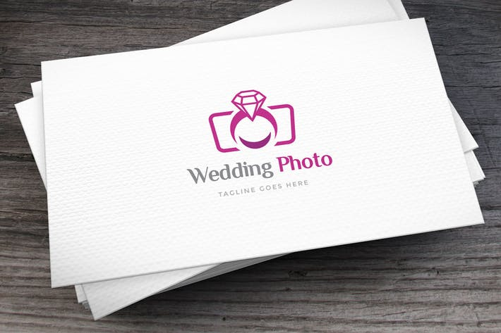 Cover Image For Wedding Photo Logo Template