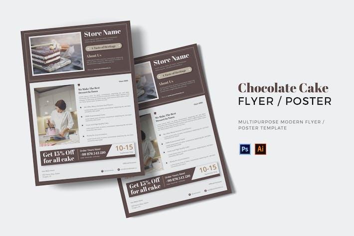 Thumbnail for Schokoladenkuchen Flyer