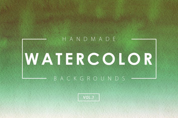 Thumbnail for Handmade Watercolor Backgrounds Vol.7