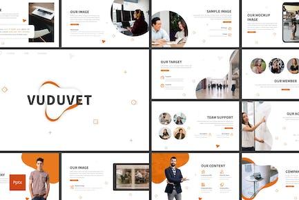 Vuduvet - Business Powerpoint Template