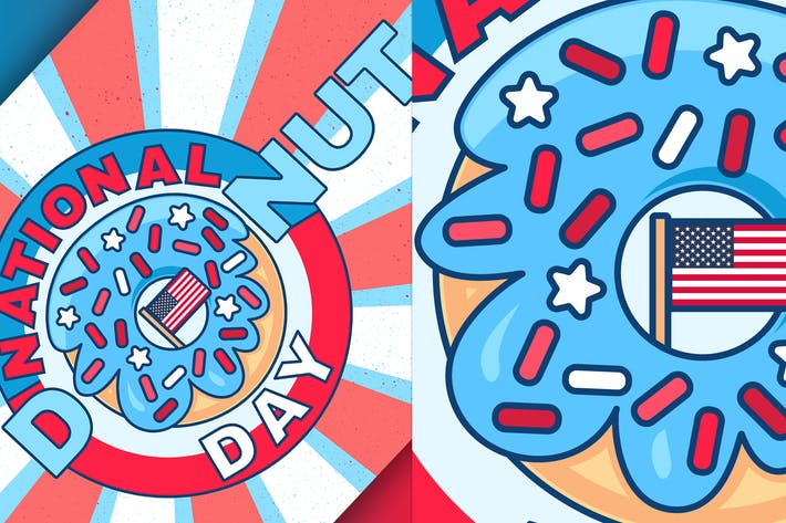 Thumbnail for National Donut Day Illustration